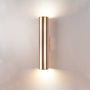 Modern Art Gold Wall Lamp Retro Wall Sconce Lighting Bedroom Living Room Home Lighting Fixture WA108