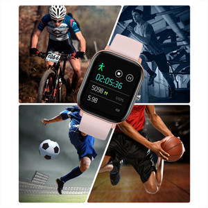 frequenza cardiaca intelligente orologio buy caldo full HD touch screen P8 e la pressione sanguigna monitoraggio modalità multi esercizio Bracciale impermeabile