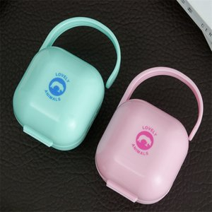 Personalized ABS Pacifier Storage Box Nipple Dustproof Soother Container Gift Baby Infant Kids Pacifier Nipple Cradle Case