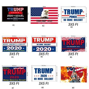Trump 2020 Флаг 90 * 150см Классический Donald Keep America Great Digital Print США Баннер Party Decor DHA13