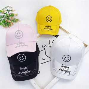 Children's hat summer anti-cockroach boy's baby cute smiling baseball cap face net hat all-match girl's sunshade baseball cap