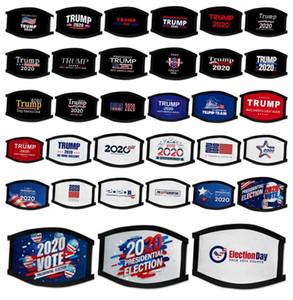 35 Stiller Trump Amerikan Seçim Malzemeleri Evrensel İçin Erkekler Ve Kadınlar Amerikan Bayrağı Mask toz geçirmez maskeler Yüz