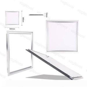 Painel de LED Light 22W 25W 36W 300X300 300x600 600x600mm Side Emitting SMD2835 85-265V branco fresco de alumínio Para o Office Hospital Escola DHL