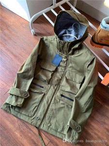19FW luxurious brand Design Functional uniform jacket L Women Men Windbreaker Sweatshirts Sweater Streetwear Outdoor Hoodies Coat