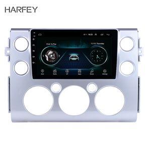 Harfey Сенсорный экран 9 дюймов для Stereo 2007-2018 Toyota FJ CRUISER Автомобильный GPS Navi Android 8.1 Радио Bluetooth 3G WiFi DVR DAB + SWC