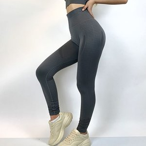 SALSPOR Yoga Leggings Women Fitness High Waist Push Up Hollow Out Sweatpants Workout Running Sports bodybuilding Legging