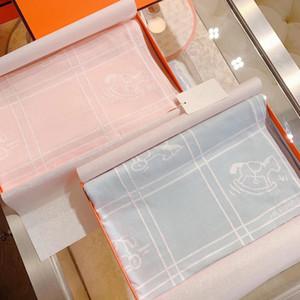 Nouveau-né Mousselin 100% coton Bébé Swaddles Soft Couvertures de bain Baignoire Gauze Enfant Enfant Sleepsack Poussette Couvercle Play Mat Grosse couche avec boîte