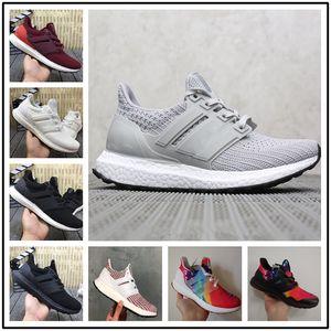 High Quality Ultraboost 4.0 3.0 Running Shoes Men Women Ultra Boost 4.0 Primeknit Runs White Black Sports Sneaker 05 EUR36-45