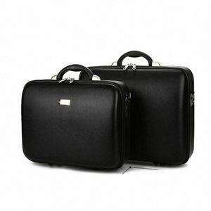 현금 컴퓨터를 포장 문서 상자 캐스 높은 품질의 남성 비즈니스 박스 비밀번호 홀드 모든 가방 가죽 트렁크 소품 가방 QMgK 번호를 CAS