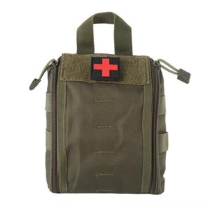 Outdoor First Aid Kit Army Camouflage And Camping Camping & Hiking Hiking Climbing Medical Package Big Capacity Medical Supplies Stora gz6q#