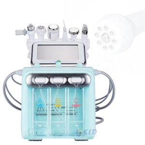 معدات سبا Hydra Facials 6in1 المياه Microdermabrasion الجلد تقشير التنظيف العميق نظام الجمال 9 آلة رفع الراديو القطبية آلة رفع الوجه