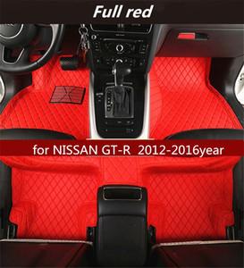 NISSAN GT-R 2012-2016year Kaymaz toksik olmayan paspas araba paspası için