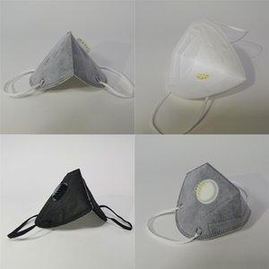 Maske Wit Fliter Einstellbare elastische Earloops Fa Masken Baumwolle Muster drucken Clot Fa Mask # 573