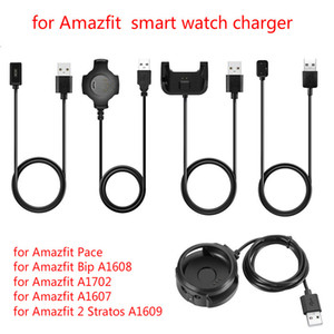 Smart Watch USB Charger Dock Station Cradle for Xiaomi AMAZFIT Pace Bip A1608 A1607 A1702 GTR 42 47mm 1909 stratos 2