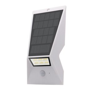 Enery saving lamp Smart LED Solar Inductive Wall Light Wireless IP65Waterproof Security Light Bright Outside Wall Sconce Lamp Night Lighting