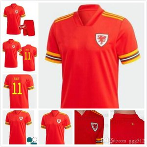 MAN+KIDS KIT 2020 Wales soccer jersey 20 21 BALE ALLEN James Ben Davies Wilson camisetas national team home Wales football shirt