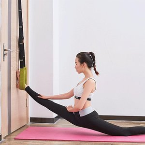 Flexibility Stretching Leg Stretcher Strap for Ballet Cheer Dance Gymnastics Trainer Comfort Design Yoga Stretch Belt Yoga Rope