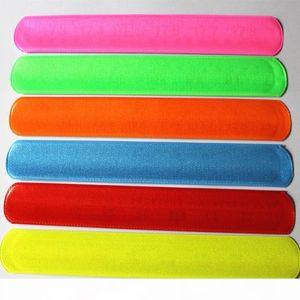 U 100pcs New Fashion Assorted Colors Magic Ruler Slap Band Bracelets R150719 Mx190727