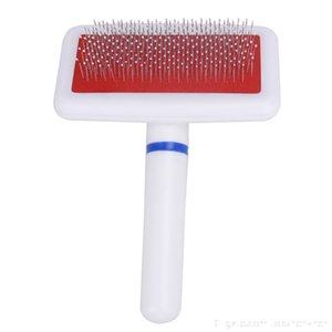 PET Dog Brush Dog Comb for dog Cat Scraper Puppy Cat Slicker Gilling Brush Quick Clean Grooming Tool Pet Product grooming accessories