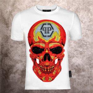 Mens Designer Luxury T Shirts Firmata juventus Off black White vltn T Shirt Summer Skull Tee Tops backpack shoes High quality M-3XL 01