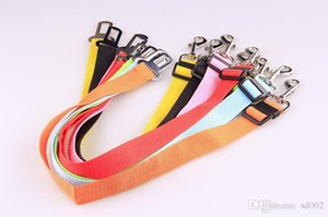 Colorful Pet Dog Collars Outdoor Puppy Dogs Car Seat Belt For Seatbelt Harness Cars Special Pets Products 1 9rq X
