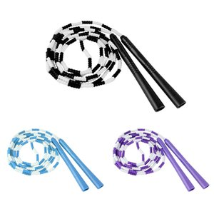 High Quality PVC Family Sports Jump Rope Fancy Bamboo Jump Rope Non-slip Handle Hard Bead Yoga Skipping