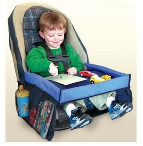 htmotostore-Safety Snack Car Seat Board Table for Kids Play Travel Tray Drawing Waterproof