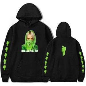QRUY7 Friday clothing 2019 New Billie Eilish fashion and wo with hat Friday clothing 2019 New Billie Eilish sweater fashion men's and women'