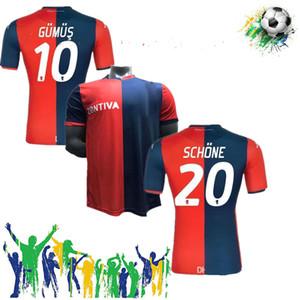 2019 2020 Gauroa Cricket Soccer Jerseys 10 Gumus 11 Kouame 27 Sturaro S. Sanabria personnalisée CFC Home 19 20 Shirt de football
