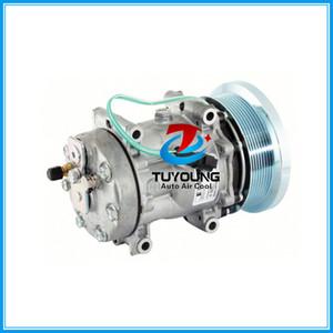 SD7H15 auto ac compressor for Caterpillar 725 816F 815B Volvo Heavy Duty air conditioning 4769 1630872 618778 58778 CO 4301C
