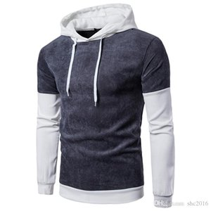 Designer Sweatshirt Men Hoodie Luxury Hoodie Casual Personality Hit Color Sleeve Mens Sweater Hooded Pullover Men's Jacket