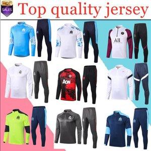 2020 2021 chaqueta de traje de entrenamiento de fútbol Marsella hombres L.GUSTAVO PAYET 2019 2020 Paris fútbol TRACKSUIT S-XXL