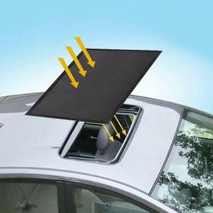 Magnetic Car Folding Sun Shade Roof Insulation Sunscreen Sun Visor UV Sunroof Window Shade Cling Sunshades