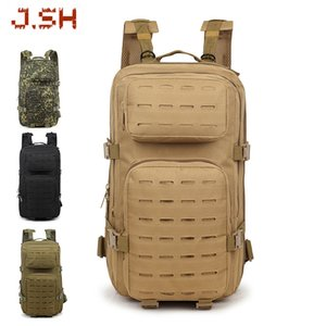 Outdoor mountaineering bag men and women waterproof tactical backpack multifunctional attack bag rucksack camouflage backpack