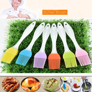 NEW Silicone Butter Brush BBQ Oil Cook Pastry Grill Food Bread Basting Brush Bakeware Kitchen Dining Tool Can Offer FBA Ship HH-B05