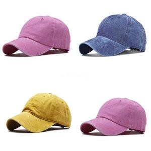 Lo nuevo Caps Cat bordado ajustable sombreros de béisbol barato pelota de golf Caps Hombres La camionero Bone Polo Sombrero auténtico broche de presión Casquettes Sun Ha # 811