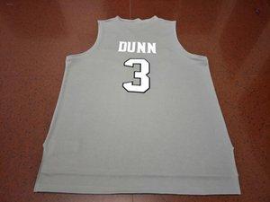 Vintage Özel Erkekler Gençlik kadınlar 3. Kris Dunn Yeni Malzemeler Çift Basketbol Jersey Boyut S-4XL veya özel herhangi bir ad veya numara forması