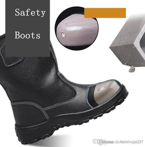 Steel Toe Safety Shoes For Women Or Men Anti-smashing Piercing Outdoor Work Shoes Safety Boots Anti-puncture Tooling Boots Protect Footwear