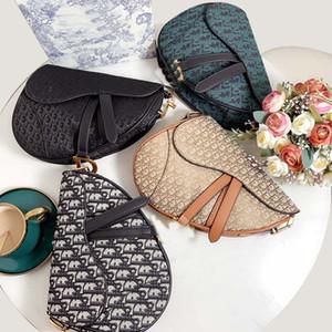 Designer bags women handbags purses shoulder messenger classic popular saddle bag come with box Size 24*20cm