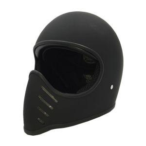 CO wintage la cara llena casco de la motocicleta Chopper Oldschool Originalmente 02 Pequeño Retro Scooter Jet cascos M L XL XXL