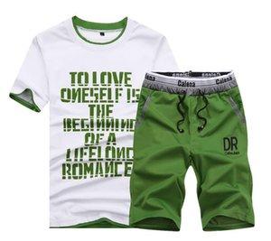 Summer 2020 Men Sportwear Sets Tracksuit Male Outwear Sweatshirts Patchwork Men Hoodies Stand Collar Male Tracksuit S-3XL 4XL