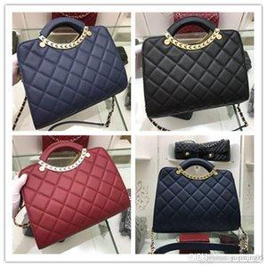 Конструкторы ватные C цепи 2way рук сумку кошелек черный Lizard кожаный мешок руки 1029 Размер: 32x25x10CM