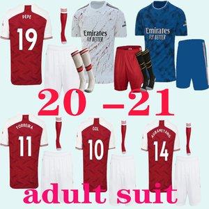 abito adulti 2020 2021 rosso domestico di calcio bianco assente maglie 20 21 Camicie Terzo blu profondo League club di calcio degli uomini personalizzato Calcio Unifor