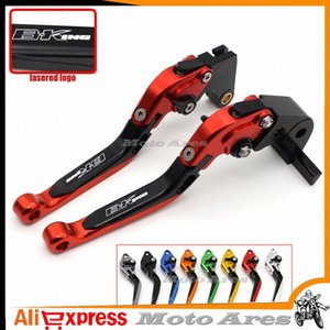 For GSX1300 BKING 2008-2011 Motorcycle Adjustable Folding Extendable Brake Clutch Lever Black B-KING Y2iC#