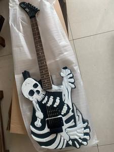Rare George Lynch Skull N Bones Mr Scary Guitar Johnny China Electric Guitar