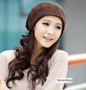 Saison triangulaire prisme Tricoté pile pull-over en laine pour les hommes pour les femmes et chapeau 8401