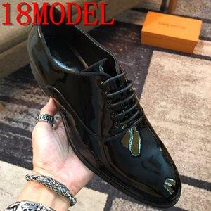 2019 Men Dress Shoes Men Formal Shoes Leather luxurious Fashion Groom Wedding Shoes Men Oxford Shoe Dress Plus Size 38-45