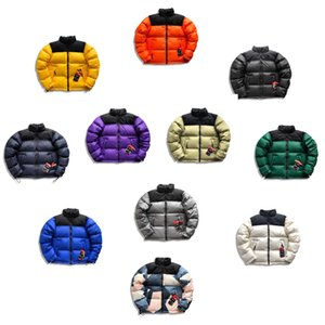 Cálido 20FW clásico Nuptse chaquetas de invierno al aire libre a prueba de viento abrigos Pan chaqueta abajo de la calle de gama alta Outwear nuevo estilo HFYMJK329