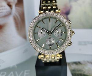 전체 기능 최고 품질 다이아몬드 베젤 여성 스테인레스 시계 최저 가격 여자 숙녀 자동 손목 시계 선물