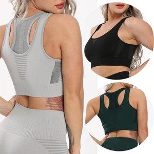 CROSS1946 Seamless Bra Mulheres Cruz Voltar Correr Desporto Bra Push Up Sportwear Gym For Women aptidão respirável Underwear